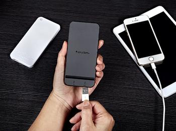 Simplism iPhone型モバイルバッテリー